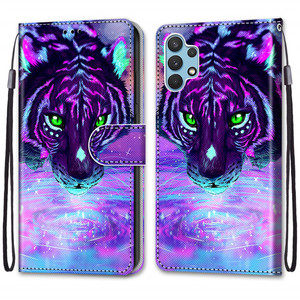 Image 5 - Etui On For Samsung Galaxy A32 4G A32Lite 6.4 inch Case Wallet Flip Leather Case For Samsung A32 5G 6.5 Cute Animal Phone Cover