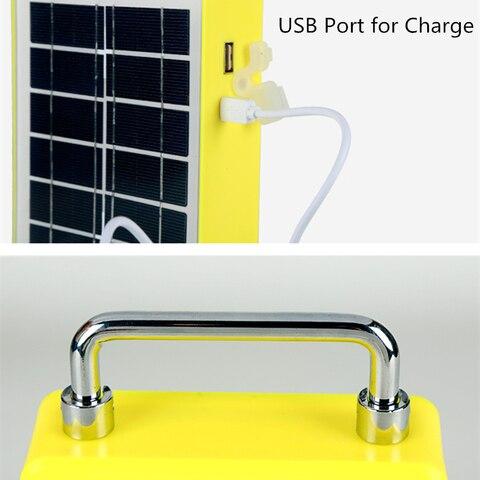 usb carga solar luz trabalho para ligthing