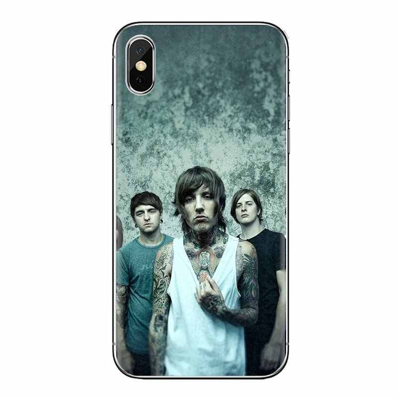 Para iPod Touch Apple iPhone 4 4S 5 5S SE 5C 6 6S 7 7 8 X XR XS Plus las cubiertas suaves transparentes MAX Me dan el horizonte BMTH