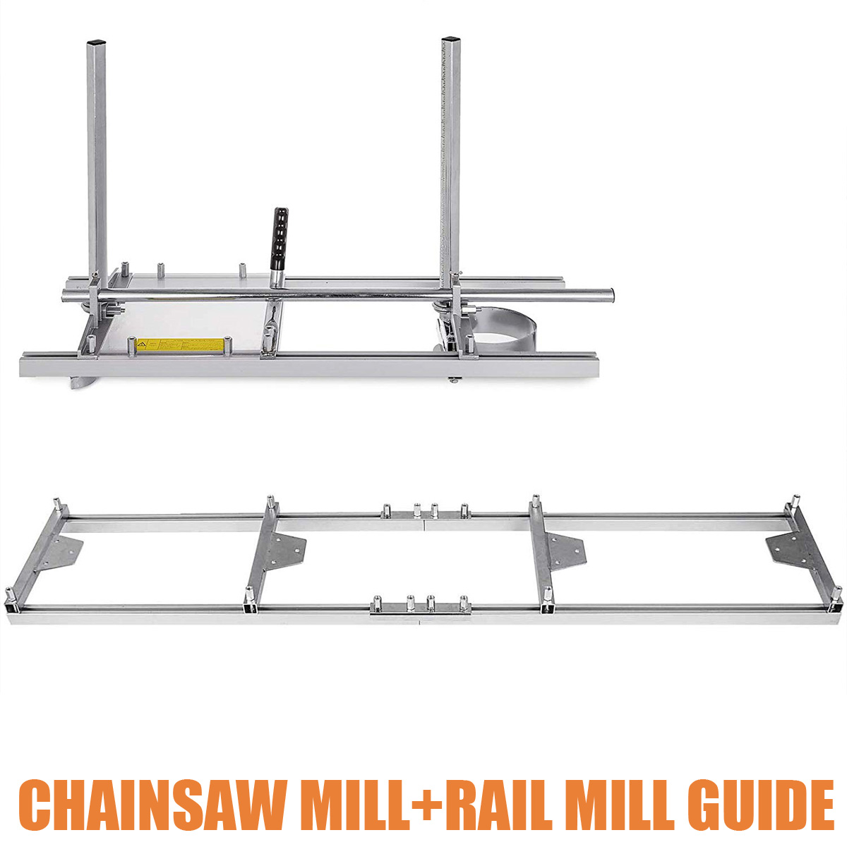 36 Inch Portable Chain Saw Chainsaw Mill Planking Sets Milling Bar Planking Lumber Cutting Tool +Chainsaw Guide Bar Rail