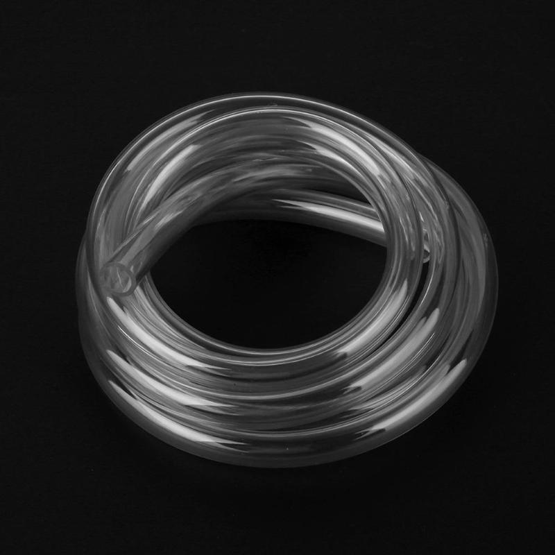 2m/6.56ft 9.5x12.7mm Water Cooling Pipe Transparent Clear Soft PVC Pipe Tube For Computer PC Water Cooling System