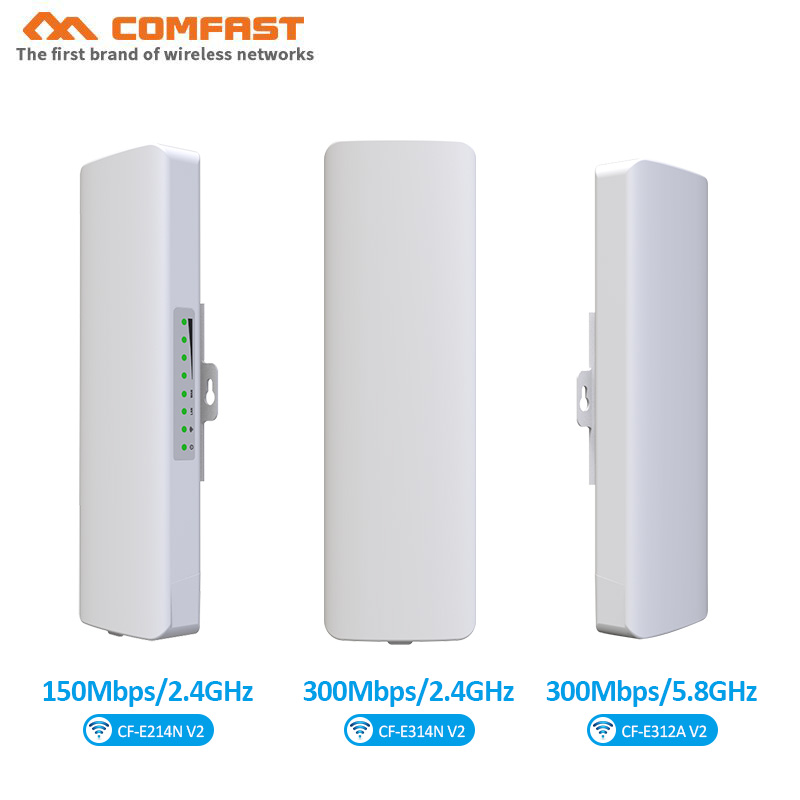2.4G ,5G Outdoor CPE Bridge 150Mbps~300Mbps Long Range Signal Extender WIFI Amplifier Network Wi Fi Access Point Repeater Router