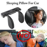 Car Seat Pillow Headrest Neck Support Travel Sleeping Cushion for Kids Adults Car Seat Headrest Useful For Cars Universal|Neck Pillow| |  -