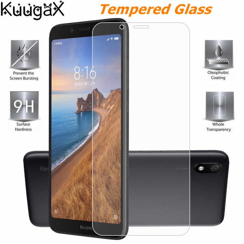 Tempered Glass For Xiaomi Redmi 7 7A Screen Protector Global Version protective cover smartphone case on Thin toughened