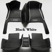 Coche tapetes para Nissan Dualis Fuga Sulphy Altima DE MARZO DE viceversa Juke Rogue Titan de Sunny alfombra para automóvil cubierta negro blanco