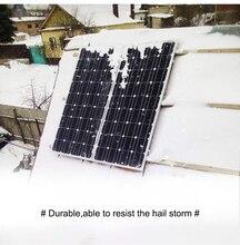 DOKIO 100 W 18 volts noir panneau solaire chine cellule/Module/système/maison/bateau 100 watts panneaux chargeur solaire