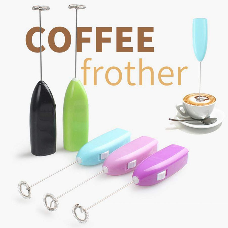 Electric Whisk Mixer Coffee Milk Frother Foamer Stirrer Egg Beater Tool