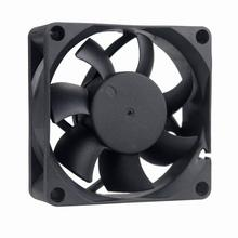 2pcs/Lot  Energy-saving GDT 3Pin Dc Brushless Fan 12v 7cm 70mm 70mmx70x25mm cooling fan