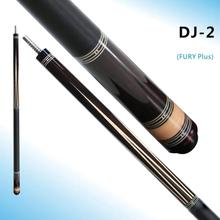 FURY DJ-2 Pool Cue Stick Kit Billiard 13mm Genuine Kamui S Tip STH Maple Shaft High-end Ebony Inlay Technology