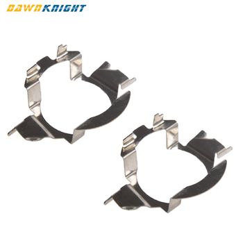 2PCS H7 Led Headlight Socket Adapter For BMW X5 e60 For Benz E/C For Buick For VW MK6 Jetta Magotan Bora Polo Car Socket Base image
