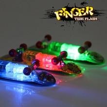 NEW Novelty Fingerboards Finger Skateboard Toy Fingertips Movement Party Favors Toys For Kids Party Random Color 2PCS