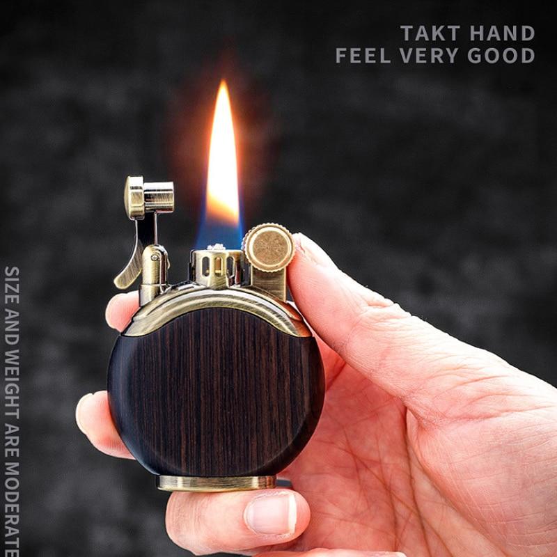 Купить креативный ретро главный керосин зажигалка масляная кремневая