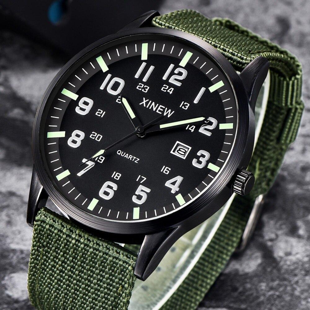 Hb32431aed75c406e9ea72193d79da0558 Men Boy Round Dial Nylon Strap Band Watch Military Canvas calendar Army Date Quartz Wrist Watch Waterproof Relogio Masculino Q