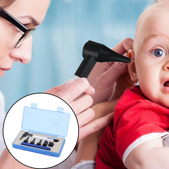 Otoscope Ophthalmoscope Stomatoscop Medical Ear Care Diagnostic Instruments 3 Zooms Otoscope Dental Ear Care Drop Ship 1