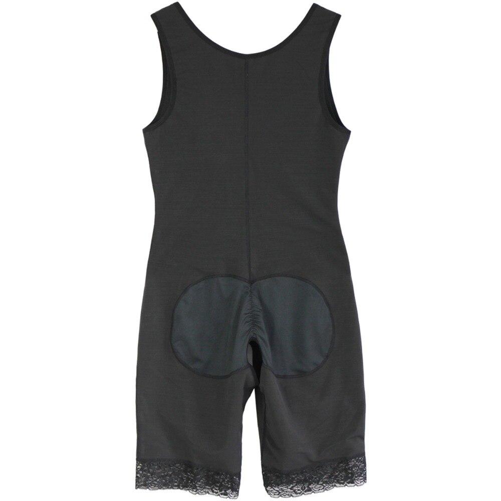 Women's Open Crotch Body Shaper Tummy Control Underwear Black Beige Plus Size 6XL Bodysuit Deep V Overbust Adjustable Shapewear (6)