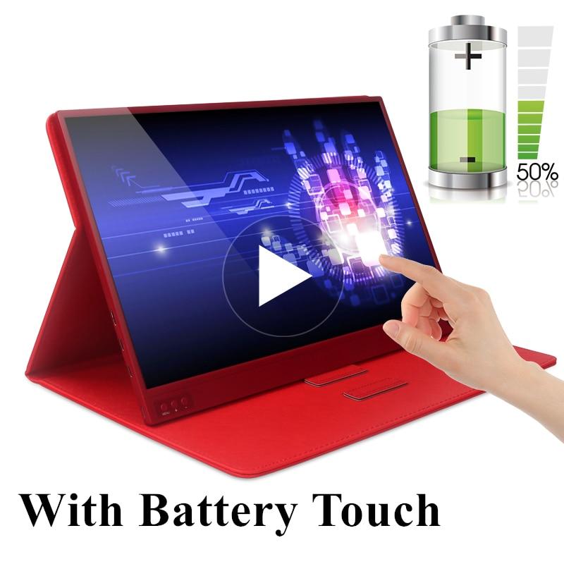 Super fino 15.6 Polegada ips tela de toque para ps3 ps4 xbox uso do carro monitor portátil para computador portátil 1920*1080 p hd tela lcd
