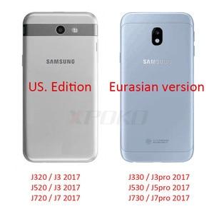 Image 5 - 3 pezzi di vetro temperato HD per Samsung Galaxy A3 A5 A7 J3 J5 J7 2017 pellicola protettiva per schermo intero per Samsung A5 A3 A7 2018 9H pellicola di vetro