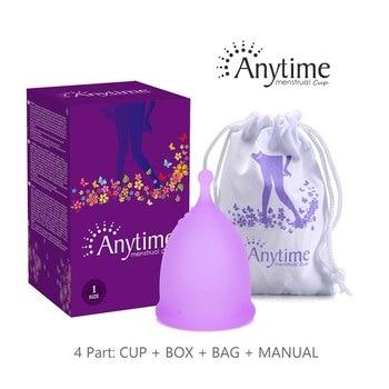 FDA 2020 Feminine Hygiene Menstrual Cup Wholesale Reusable Medical Grade Silicone Menstrual Cup Lady Menstruation Copo