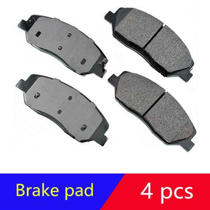 Front wheel brake pads for hyundai Santa fe 07-16 Genesis 09-11 for kia Sorento 09- 14 Sedona for SSANGYONG ACTYON Korando 10+
