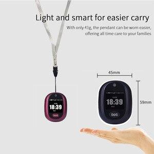 Image 3 - 새로운 실제 4G LTE 개인 GPS 트래커 방수 IP67 스마트 추적 펜던트 건강 관리 양방향 토크 HD 카메라 무료 APP