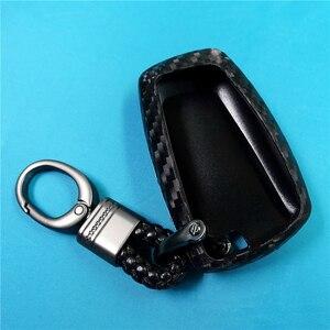 Image 3 - Coque de protection pour clé de voiture en Fiber de carbone, pour Bmw série X1 X3 X4 X5 X6 M3 M5 Z4 F20 F30 F10 E90 E60 E30