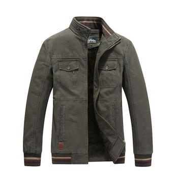 2019Winter Men Jacket and Coat Brand Mens Clothing Fashion Casual Regular Jackets Parkas Coats Male Overcoats Clothing Plus Size