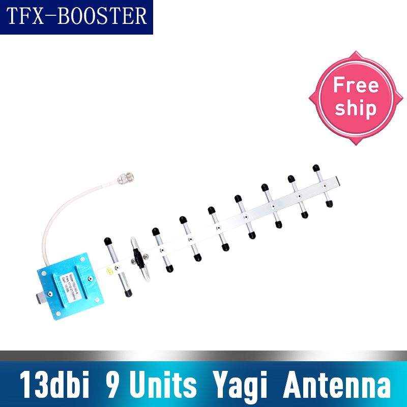 TFX-BOOSTER <font><b>4G</b></font> <font><b>LTE</b></font> <font><b>GSM</b></font> <font><b>3G</b></font> <font><b>4G</b></font> <font><b>LTE</b></font> Antenna 13dBi Outdoor Antenna 2G <font><b>3G</b></font> <font><b>4G</b></font> 700-2700mhz External Yagi Antenna For Signal Booster image