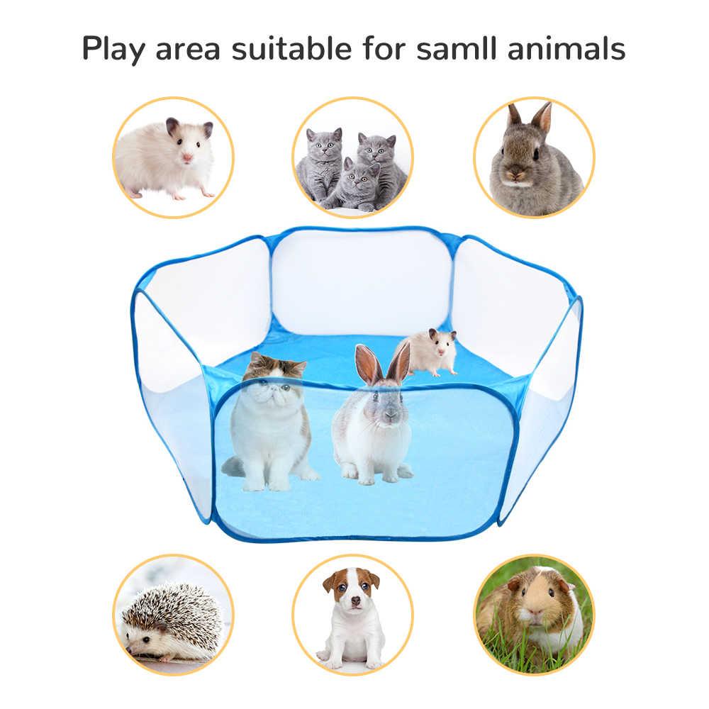 Parc pour animaux chat tente chiens chenil respirant bébé parc chiot lapin Cage jeu aire de jeux enfants pliable parc barrière de sécurité