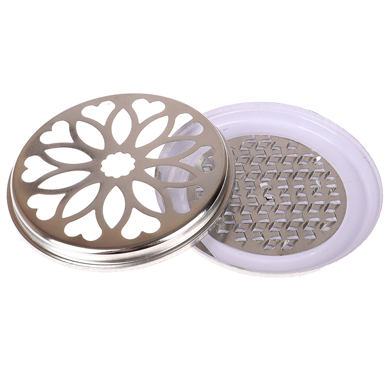 Large Thickened Mosquito Coil Tray Metal Round Portable Spiral Tray With Lid