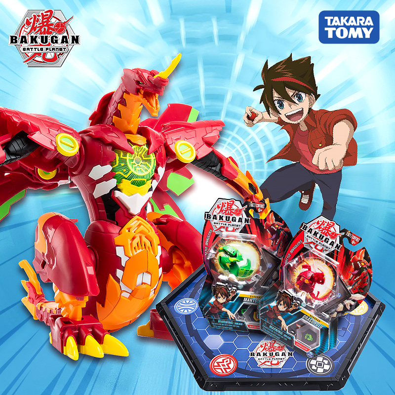 Gyro Transformations Game Action-Figure Bakugan-Toy Dragon-Ball-Athletics Fusion Monster