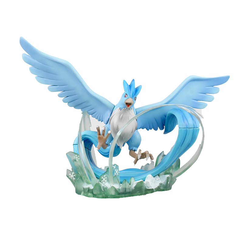 Takara Tomy Toy for Children Pokemon Monster 15cm Lucario Articuno Collectible Action Figure Pocket Monsters Dolls image