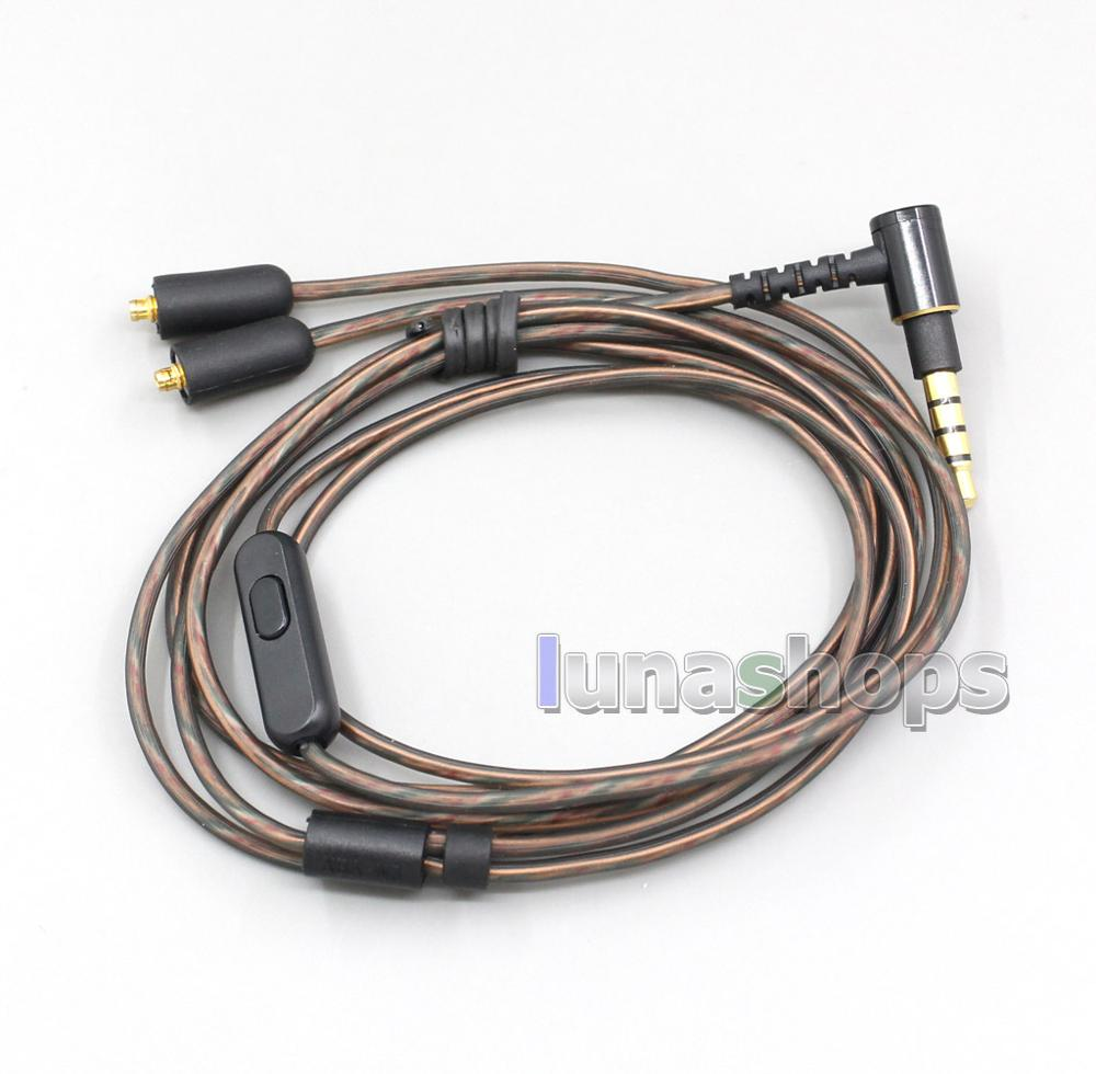 LN006826 3.5mm MMCX Original Type Earphone Cable For Sony XBA-N3 XBA-N3Q XBA-N3AP XBA-N1AP