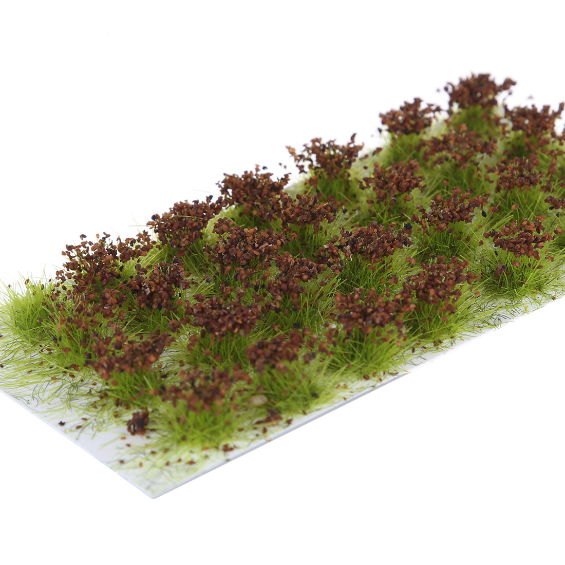 28Pcs Simulation Flower Cluster Flowers Scene Model For 1:35/1:48/1:72/1:87 Scale Sand Table  Miniatures Landscape - Rose