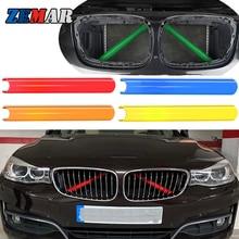 M Sport Stijl Grille Trim Strips Cover Frame Stickers Voor Bmw F30 F10 F20 F11 F31 F07 F32 F33 f34 F36 G30 F48 G20 G01 G05