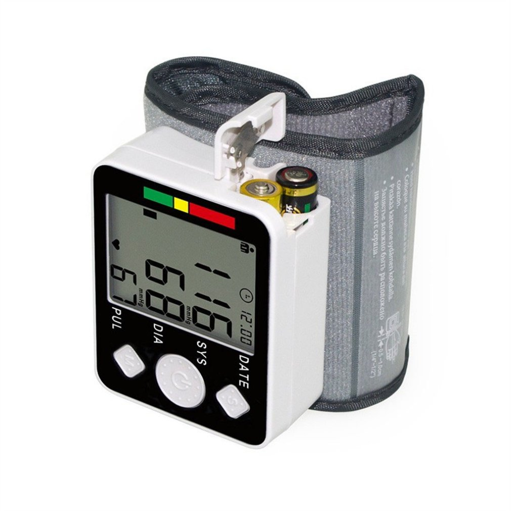 JN-163EW Home-Wrist Electronic Blood Pressure Monitor Automatically Measures Blood Pressure No Voice