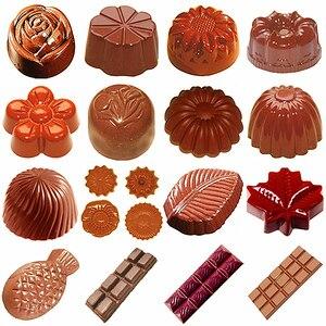 Image 5 - ALICAKE   Moule chocolat polycarbonate 3D pour pâtisserie Polycarbonate chocolat moules chocolat bonbons barres moules Polycarbonate plastique forme fleurs cuisson pâtisserie boulangerie ustensiles de cuisson