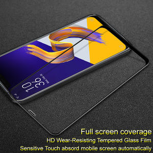 Image 1 - sFor Asus zenfone 5z ZE620KL Tempered Glass IMAK Full Cover Pro+ Screen Protector For Asus zenfone 5z ZE620KL
