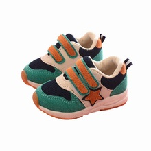 2019 Spring And Autumn New Children's Shoes Color Matching Breathable Shoes Mesh Sports Shoes Boys And Girls Fashion Wild Shoes fall 2019 new breathable casual shoes boys and girls color matching sports shoes children flyknit socks and shoes double color