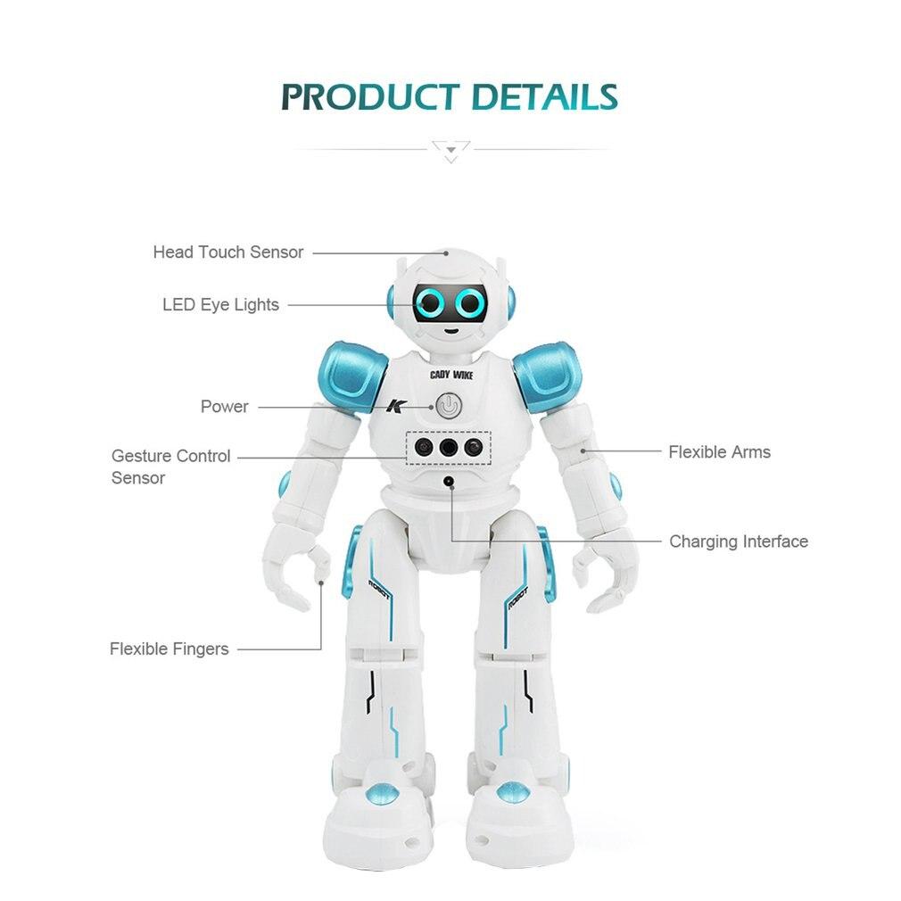 Радиоуправляемый робот с дистанционным управлением, умные экшн фигурки для ходьбы, пения, танцев, жестовые Сенсорные игрушки, подарок для д