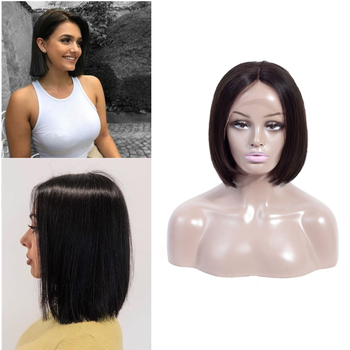 13*4 Lace Front Human Hair Wigs for Women Remy Wig Bob Short