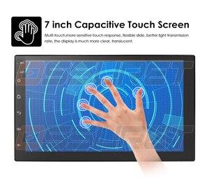 Image 4 - Android 10 2 Din 7นิ้วHD Touch Screenวิทยุรถยนต์เครื่องเล่นวิดีโอมัลติมีเดีย4 Core Universal AutoสเตอริโอGPSแผนที่กระจก2 + 32
