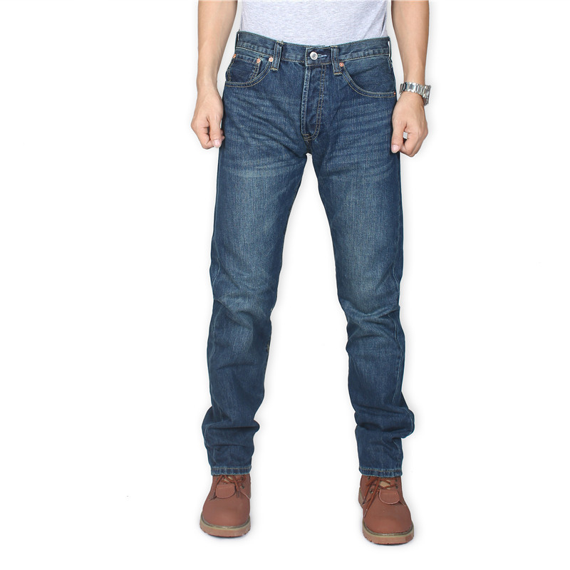 Cool Airy Wes Jeans Men's Straight-Cut Autumn And Winter New Style 2019 No Bombs Business Official Genuine Product 501