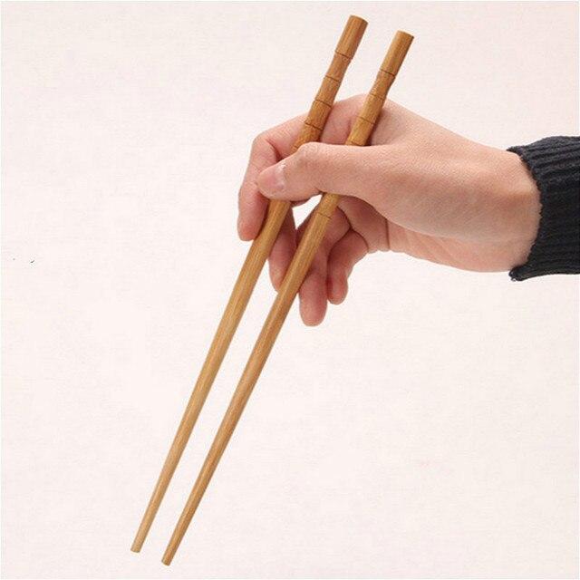 Фото 2 пары бамбуковых палочек для суши ручной работы японская посуда