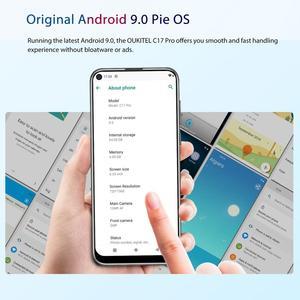 "Image 5 - Oukitel C17 Pro Android 9.0 Pie Smartphone Gezicht ID 6.35 ""Pole notch Screen 4GB RAM 64GB ROM MT6763 Octa Core 4G Mobiele Telefoon"