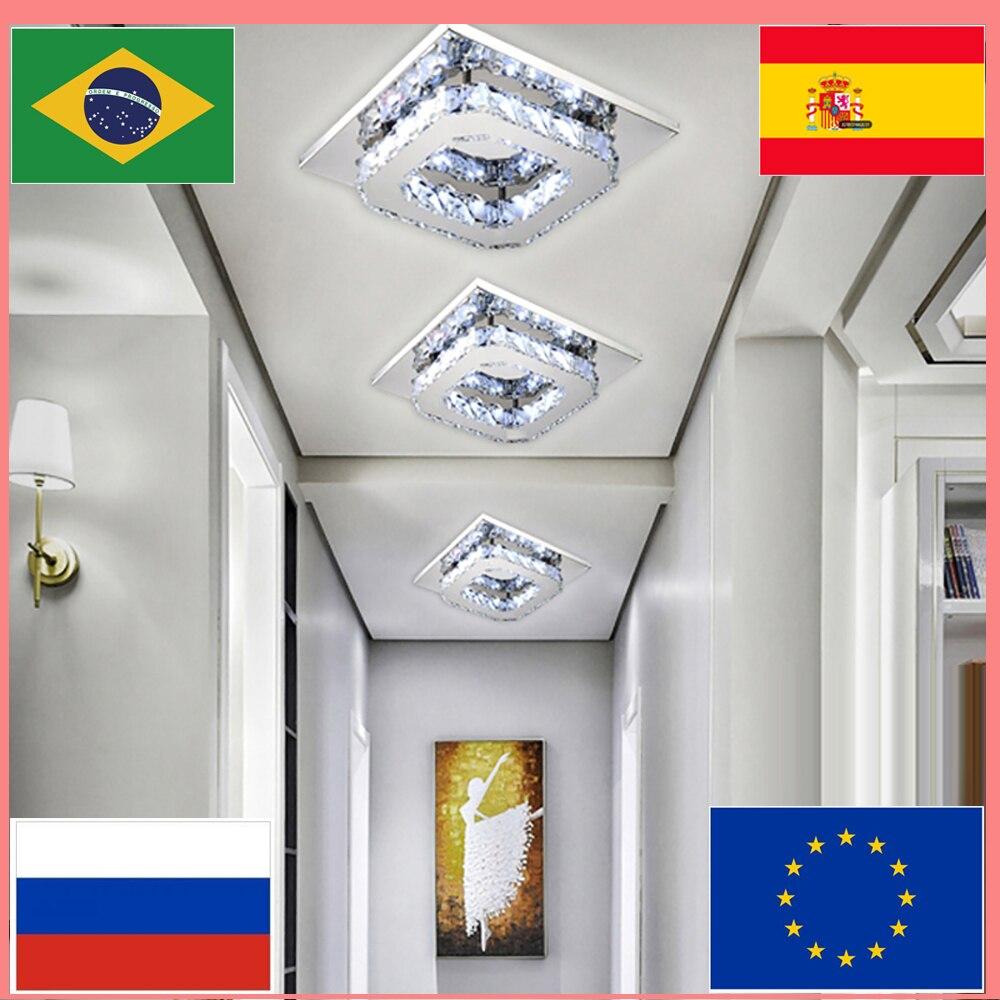 高級クリスタルシャンデリア照明リビングルームベッドアクセサリーランプレストラン装飾現代の天井のシャンデリア