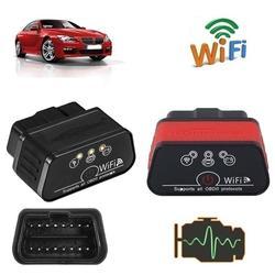 KW901 WiFi OBDII samochodowych samochód diagnostyka usterek skaner dla Android iOS