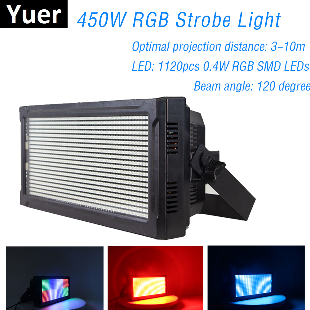 Stage Effect Lighting LED Super Bright Strobe Light RGB 3IN1 LED Lamp LED Wash Strobe 2IN1 With Color Mix For Dj Light Disco DMX|Stage Lighting Effect| |  - title=