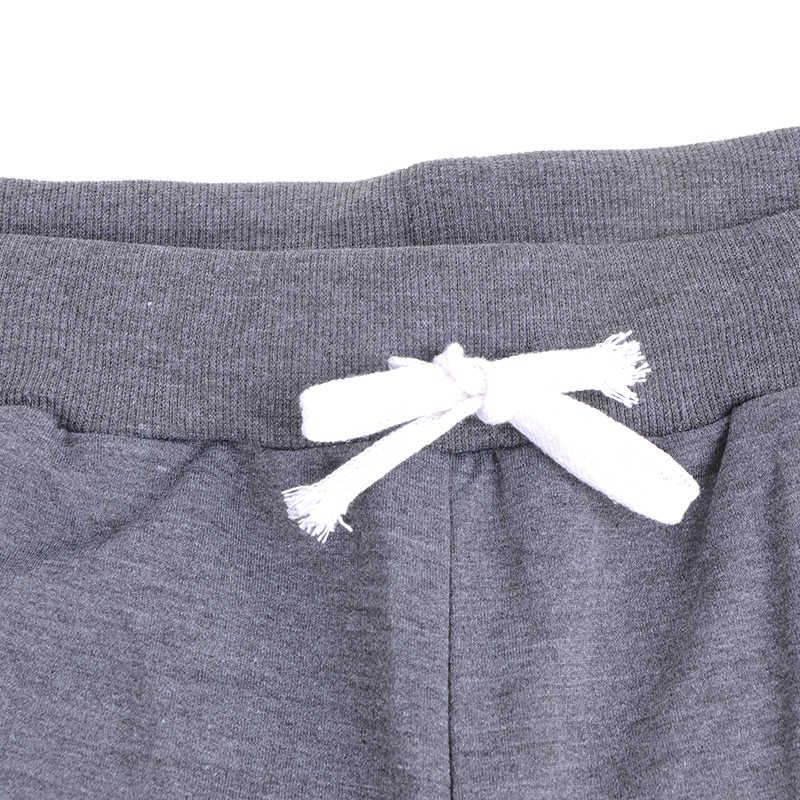 DIHOPE Mens 캐주얼 바지 편지 인쇄 스웨트 2019 새로운 남성 레이스 업 느슨한 엉덩이 바지 조깅 트랙 코튼 팬츠 cool