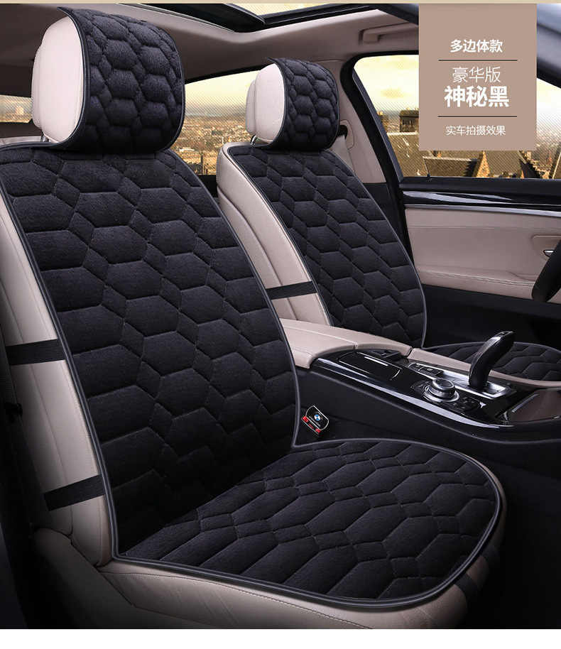 Linen car seat cover cushion suitable for 99% of the auto four seasons universal comfortable and breathable Car accessories