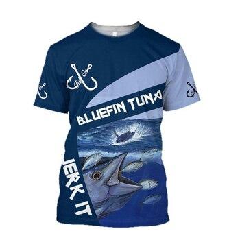Bluefin tuna Fishing T Shirt All Over Print